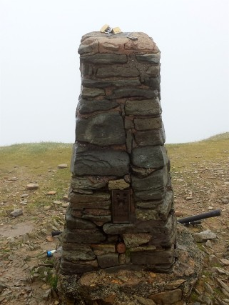 Helvellyn trig point