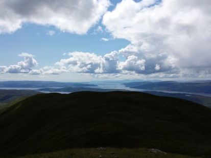 Looking down the Firth