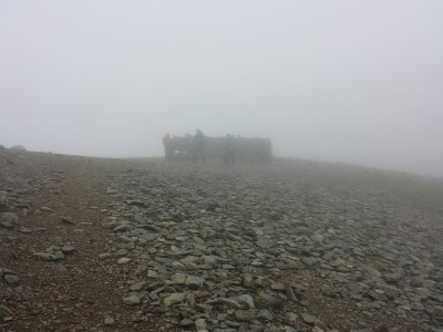 Helvellyn summit shelter