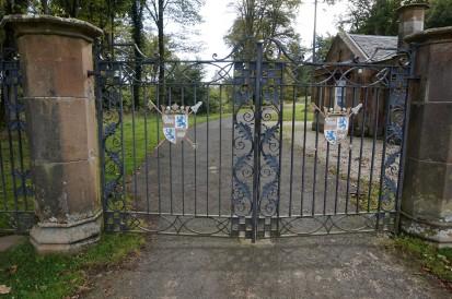 Mount Stuart side entrance