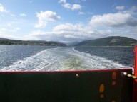 Looking back up the Holy Loch