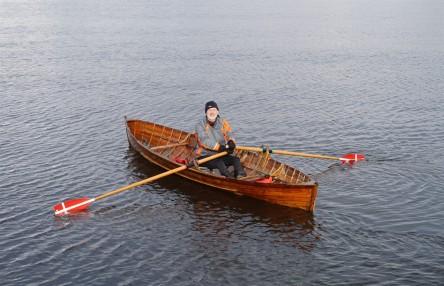 Fella in a boat