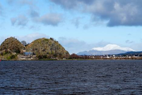 Dumbarton Rock and Ben Lomond