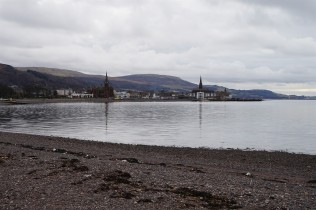 Largs from Aubrey