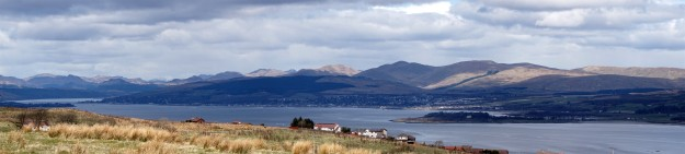 North from Port Glasgow golf course (Devol Rd)