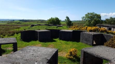 Bogside gun emplacement