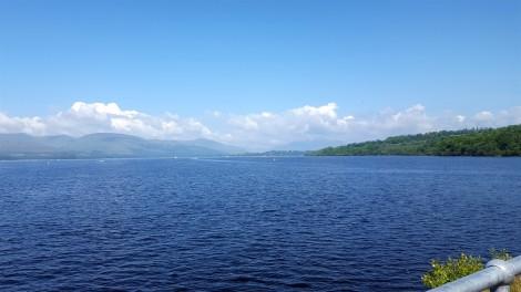 Loch Lomond from Balloch Pier