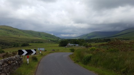 Heading down into the glen