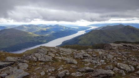 Looking down the Loch
