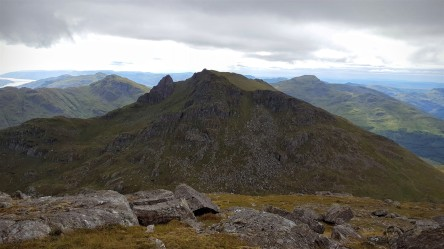 The Cobbler from the ascent