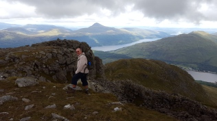 Yer man and Ben Lomond