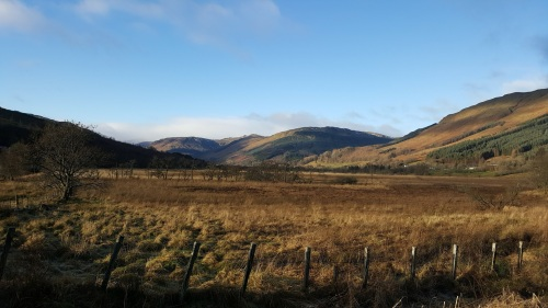 Looking towards Balquhidder