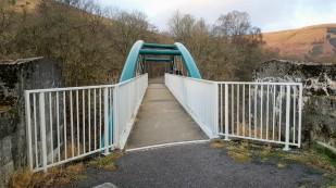 Viaduct before Glen Ogle