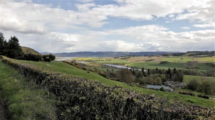 Looking over to Fife, River Tay below