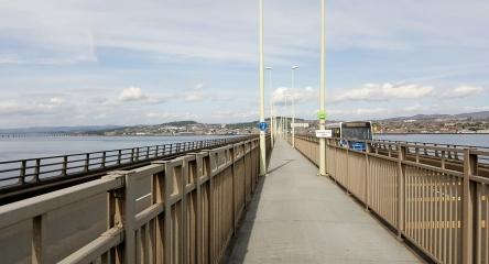Tay Bridge cycle lane