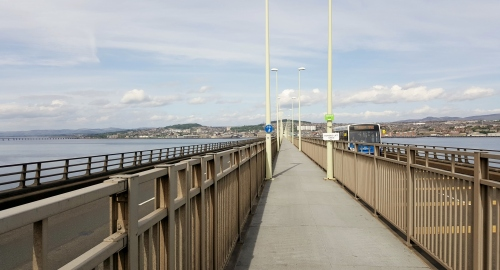 Tay Bridge cycle lane