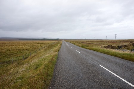 Barren landscape on Lewis