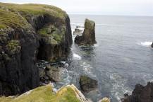 Butt of Lewis cliffs