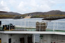 Leaving Barra behind