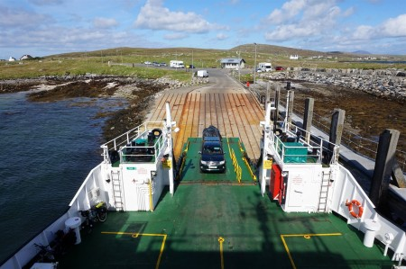 Leaving Berneray