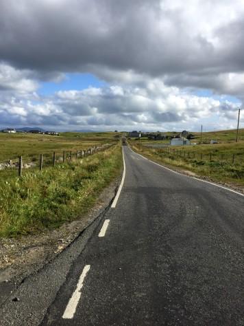 Excellent road surface
