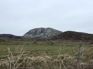 Holyhead Mountain from South Stack Rd