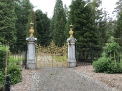 Botanic gardens side gate