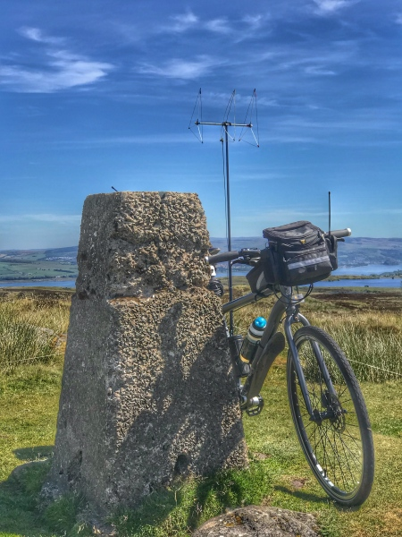 Trig Point, Polly and 2m Beam