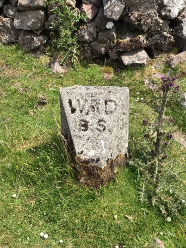 War Department Boundary Marker