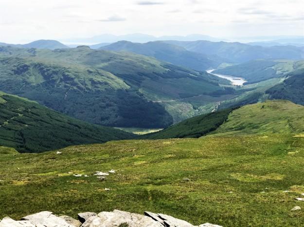 Sron Mhor and Loch Tarsan