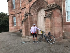 Yer man at Inverness Castle